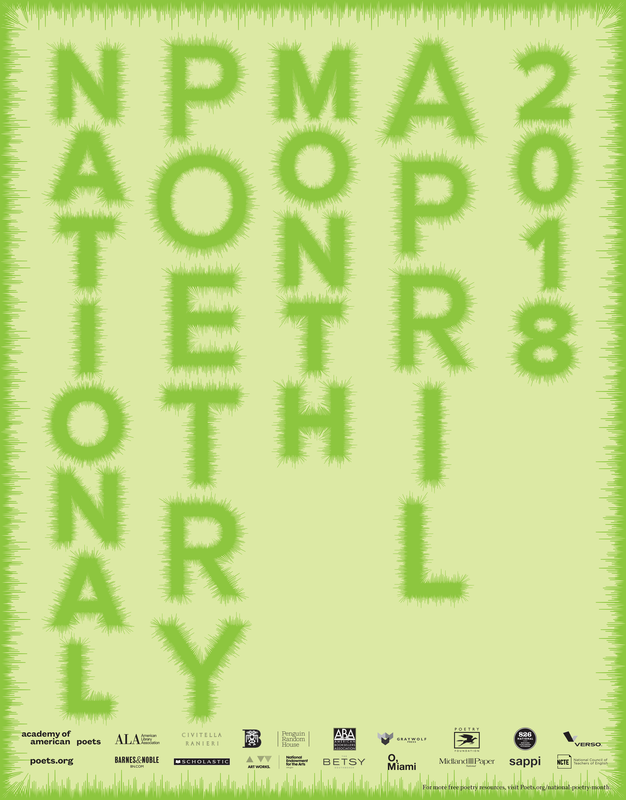 2016 National Poetry Month Poster